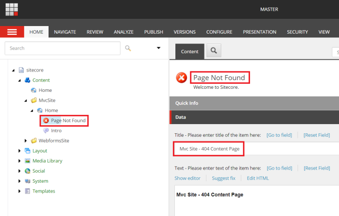 How to handle errors of a specific site on a shared ...